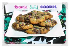 Back For Seconds: Brownie Stuffed Cookies