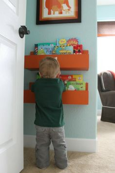 storage solution for kids books