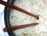 Coconut Rice -- goes well with the coconut chicken