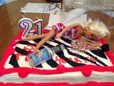 my very own drunk Barbie cake