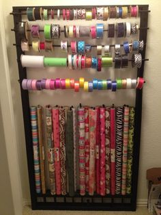 wrapping supplies  Craft room