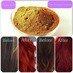 BESTSELLER! Deep Red Henna Hair Dye 100 Grams (Bu... $6.69
