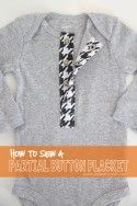 Sewing Tips: How To Sew a PARTIAL BUTTON PLACKET --- Make It and Love It
