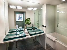 Contemporary Bathrooms from Lindsay Pumpa on HGTV