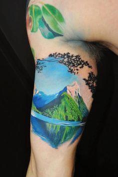 Mountain. Wow.