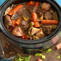 Classic Beef Stew | MyRecipes.com #MyPlate #protein #vegetable
