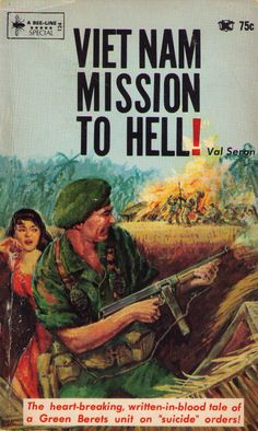 Vietnam Mission to Hell, Bee-Line Books, 1966