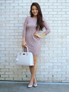 Sensible Stylista in a Deb Shops dress