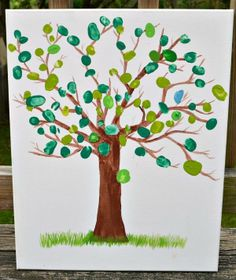 Thumbprint Canvas Art
