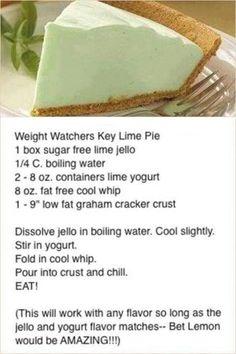 WW key lime pie