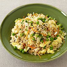 WW fried rice... 4 points plus for 3/4 cup serving