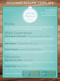 I love looking at unique resumes like this to inspire updates to my own. Lord knows it's never been just a normal black and white document.
