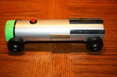 Pinewood Derby car for awesomeness