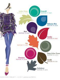 Colores de moda  Otoño-Invierno 2013-2014