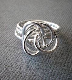 Medium Silver Twist Ring by Simple Twist Jewelry on Scoutmob Shoppe