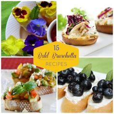 15 Bold Bruschetta Recipes