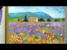 How to paint like Monet: Part 4 - Step-by-step Impressionist landscape painting