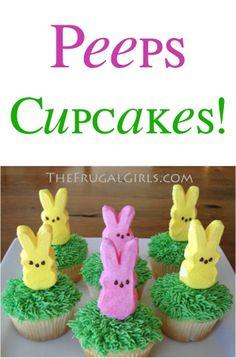 Peeps Cupcakes Recipe