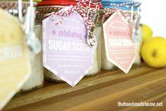 how to make sugar scrub {the perfect gift!} | the handmade home