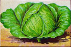 Beautiful Vintage Vegi Images - Cabbage & Carrots - The Graphics Fairy