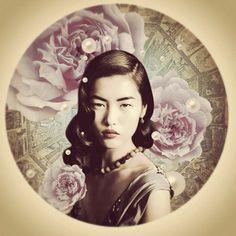 Liu Wen liu wen, asian beauti, stun beauti