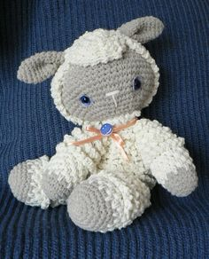 Crochet Little lamb-adorable