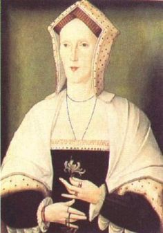 Margaret Plantagenet, Countess of Salisbury, was born the eldest child of George, Duke of Clarence a younger brother of King Edward IV and as such would always be a potential claimant to the Tudor throne. She was eventually imprisoned by Henry in 1539 and executed in 1541 ~ an event of particular barbarity; some sources claim that it took over 10 strokes of the axe before her head was severed.