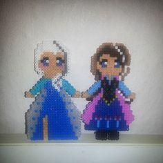 Frozen hama beads by cristina_ac
