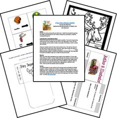 so many lapbooks here!  If you give a moose a muffin unit study and printables!