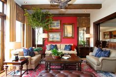 Memorial Day traditional family room