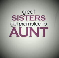 Love being an auntie!!!