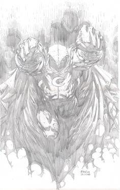 Moon Knight, in DavidFinch's Pencils Comic Art Gallery Room - 183386