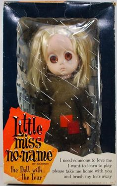 1965, Little Miss No Name Doll, from Hasbro toy