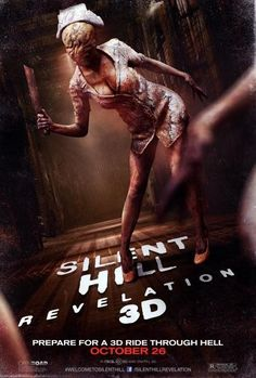 Silent Hill Revelation sexy nurse poster