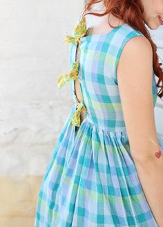 DIY Tie Back Dress - Skunkboy Blog