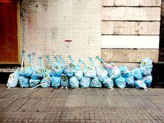 Street Artist Turning London's Rubbish Into Art - Francisco de Pajaro