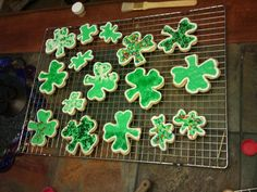 St Paddy's Day Cookies (with Molly and Meredith)