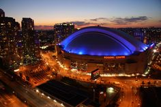 Rogers Centre is an entertainment complex like no other in the world, and features a fully retractable roof. Home to the Toronto Blue Jays and the Canadian Football League's Toronto Argonauts, it has been designed to stage every conceivable kind of entertainment event.