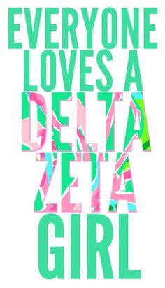 Everyone loves a DELTA ZETA girl