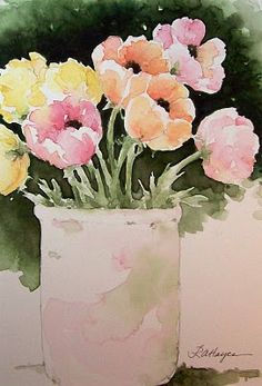 RoseAnn Hayes Watercolor