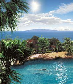 Cвадьба на Канарах - Свадьба в Испании - Abama Golf & Spa Resort - Villas Swimming pool at Abama Golf and Spa Resort