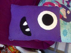 Cute Monster Cushion
