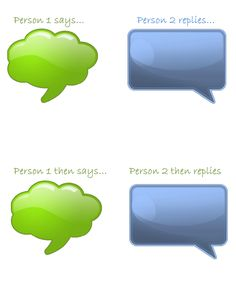 lesson speech bubbles Google Drive
