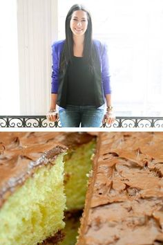 Birthday Sheet Cake  Adapted by Rebecca Minkoff from Ina Garten for Barefoot Contessa