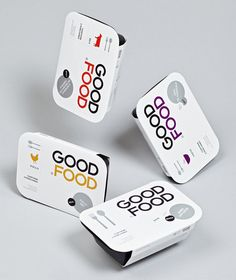 Good Food packaging by Face Creative