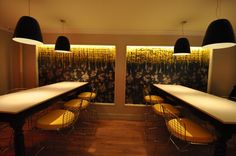 Gastroarte restaurant by Garrett Singer Architecture & Design, New York store design