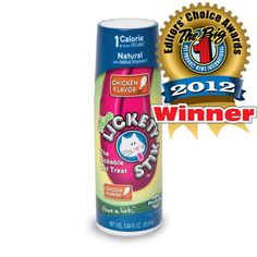 Give your cat a yummy lickable #treat with the #feline Lickety Stik! Only 1 calorie per 20 licks!