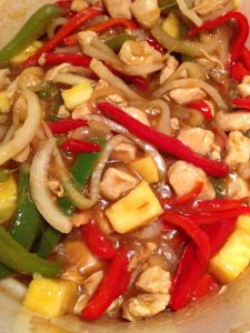 Sweet n Sour Chicken- Trim Healthy Mama E Meal- Asian