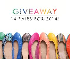 Tieks is giving away 14 pairs of their gorgeously comfortable ballet flats!