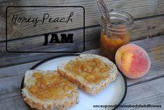 Honey-Peach Jam | onceuponatimeinabedofwildflowers